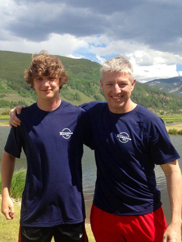 John and his son